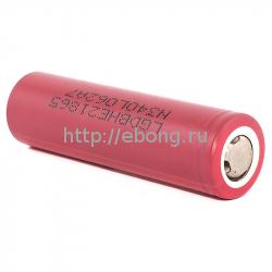 Аккумулятор LG HE2 INR 18650 2500mAh 20A/35A (Незащищенный плоский)