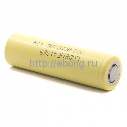 Аккумулятор LG HE4 18650 2500mAh 20A