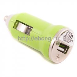 Автомобильный USB Мини-адаптер 800 mA (в прикуриватель)