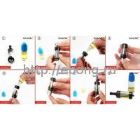 Бак DCT резина 6 мл + DCT Картомайзер Две спирали XL 1,5 Ом (версия 1) SmokTech