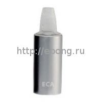 Атомайзер ECA Тип А (юбка) с испарителем и картриджем (Сталь и Хром)