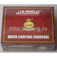 Уголь кальянный Al Fakher 33мм 10таб