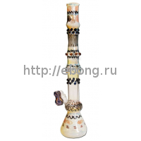 Бонг стекло Этно Black Leaf Glass Art bong 261805