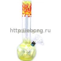 Пламенный стеклянный бонг GB102