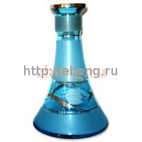 Колба MYA Конус богемское стекло H240