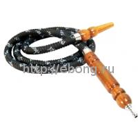Шланг кальянный MEG-15 Пузатик черный