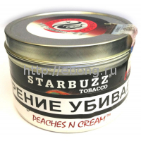 Табак STARBUZZ Персик Крем (Peachesn Cream) 100г