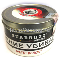 Табак STARBUZZ Белый Персик (White Peach) 100г