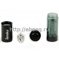 Танк BCC Mega Simple Черный-прозрачный 2,2 Ом