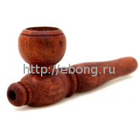 Трубка рыжая-гладкая (T4003)