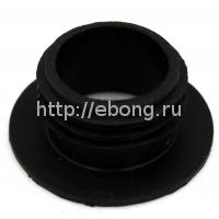 Уплотнитель для колбы маленькой кальяна (черный)