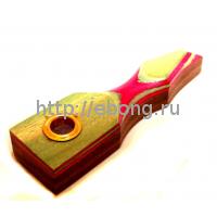 Трубка Зелёно-Розовая L440