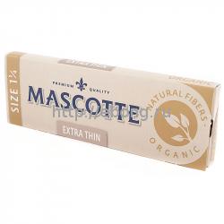 Бумага сигаретная MASCOTTE Extra Thin Organic Size 1 1/4 50 лист.