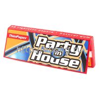 Бумага сигаретная Party in House Red 50 лист.