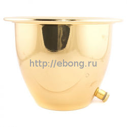 Чаша для льда золотая (Ледница)