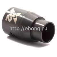 Дрипка Doge V2 RDA Черный (Обслуживаемый Атомайзер)