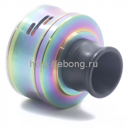 Дрипка Vertex Mini RDA Радужный боковой обдув (Обслуживаемый Атомайзер)