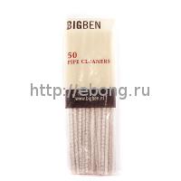 Ершик для трубок Big Ben Abrasif 18 см Белые (поштучно)