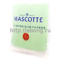 Фильтры для самокруток MASCOTTE Extra Slim Filters 5.3 мм 150 шт
