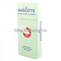Фильтры для самокруток MASCOTTE Extra Slim Filters Sticks 5.3 мм 126 шт