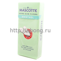 Фильтры для самокруток MASCOTTE Extra Slim Filters Sticks Menthol 5.3 мм 126 шт