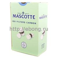 Фильтры для самокруток MASCOTTE Filters Carbon 8 мм 100 шт