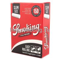 Фильтры для самокруток Smoking Rolling Slim 150 шт
