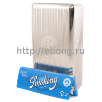 Футляр для табака металл Smoking Tobacco Box
