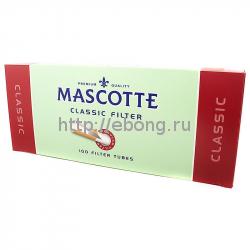 Гильзы сигаретные MASCOTTE Classic с фильтром 100 шт