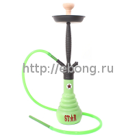 Кальян Amy Deluxe 4-Star 610 green, black h=71