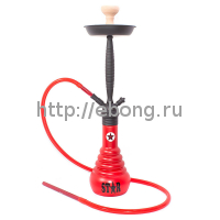 Кальян Amy Deluxe 4-Star 610 (red, black) h=71
