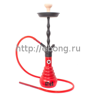 Кальян Amy Deluxe 4-Star 630 (red, black) h=72