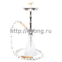 Кальян MYA BLAZE III колба прозрачное стекло 593113 С h=56 см