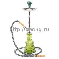 Кальян MYA BLAZE III колба зеленое стекло 593113 С h=56 см