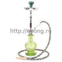 Кальян MYA BLAZE колба зеленое стекло 593110 С h=56 см