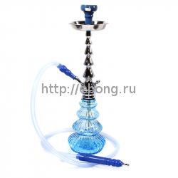 Кальян MYA Luna колба голубое стекло S525243 С h=56