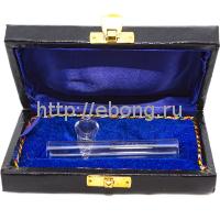 Трубка стекло Kawum in Box в футляре L=10 см