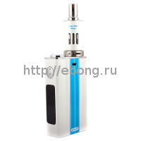 Мод eVic VT 5000 mAh 60W Белый + Клиромайзер eGo One Mega (Батарейный мод JoyeTech)