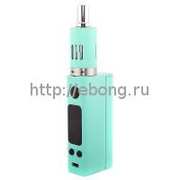 Мод eVic VTC Mini 75W Зелёный + Клиромайзер eGo One Mega (Батарейный мод JoyeTech)