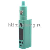 Набор eVic VTC Mini 75W Зеленый + Клиромайзер TRON-S (Батарейный мод JoyeTech)