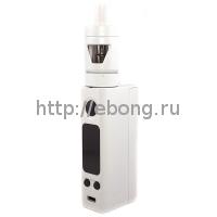 Набор eVic VTC Mini 75W Белый + Клиромайзер TRON-S (Батарейный мод JoyeTech)75W