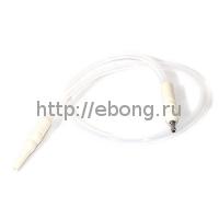 Шланг MYA SILICONE с охлаждением Белый L=180 см H630 106S