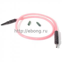 Шланг MYA SILICONE с охлаждением Розовый L=180 см H630 106S