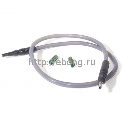 Шланг MYA SILICONE с охлаждением Серый L=180 см H630 106S