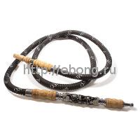 Шланг кальянный MEG-14 Узорный черный