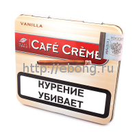 Сигариллы Cafe Creme Vanilla (без мундштука) 10 шт