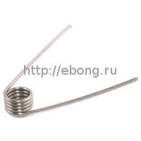 Спираль Кантал-A1 0.5 Ом (2 мм*16.5*3.6мм*26AWG) Rebuildable Форсунки
