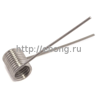Спираль Кантал-A1 1.2 Ом (0.4 мм*16.8*4.4мм*24AWG) Rebuildable Форсунки