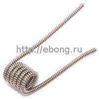 Спираль Кантал-A1 Clapton-V1 0.5 Ом (26AWG*32AWG) (клэптон-намотка) PilotVape
