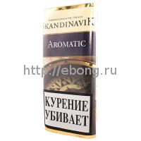 Табак трубочный SKANDINAVIK Aromatic 50 г (кисет)